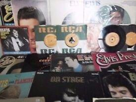 Elvis Presleys 1970s Albums/ Singles.