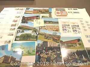 Mixed Lot Of Canada & USA First Day Covers And Postcards. Including New Sweden Stamps.