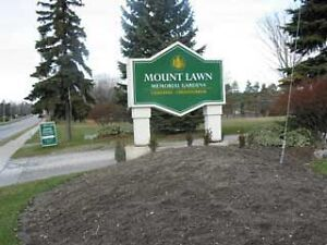 Mount Lawn Memorial Gardens burial plot for sale, Oshawa, Whiby