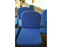Padded reception office chairs