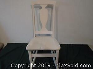 Small Painted Vintage Rocking Chair