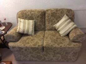 M&S two seater sofa and 2 armchairs.