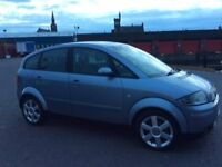 audi a2 tdi 90 hp ,very good condition first registered 04
