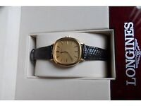 Ladies Longines Gold plated watch