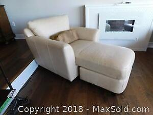 3 Piece Leather Chaise C