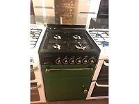 GREEN 55CM RANGEMASTER GAS COOKER
