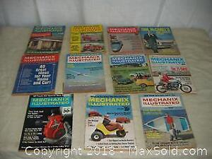 Lot of Mechanics Illustrated 1960's and 70's A
