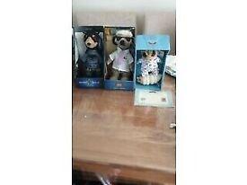 3 meerkat toys. All 3 for £5