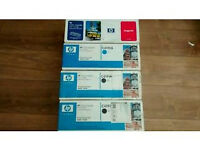 4 x Original (sealed) HP Toner Cartridges for HP 4500~4550 Series