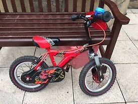 Raleigh MX14 child's bike