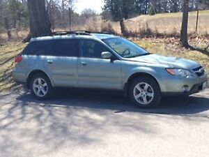 2009 SUBARU OUTBACK Pzev AND Winters with Rims