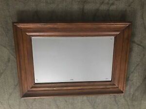 Beautiful Pine Mirror From Pottery Barn