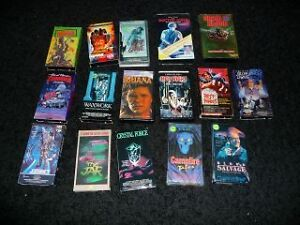 Wanted: Horror & Slasher Movies from the 80's VHS