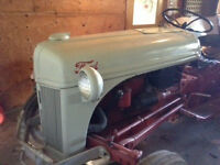 Classic Ford 8N tractor