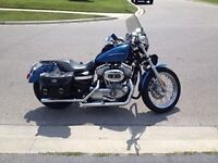 883 sportster sinaster blue good condition  !