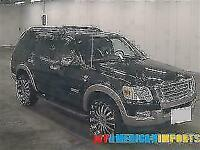 FRESH IMPORT FORD EXPLORER EDDIE BAUER 4.6 EXPEDITION AUTOMATIC 7 SEATER BLACK