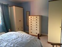 Bedroom suite made by Steens furniture.