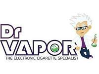 Sales Assistant Required For E-cigarette Shop - Portobello