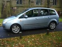 Ford Focus c max 55 plate mint