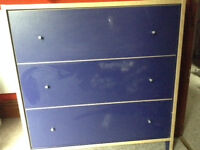 Chest of Drawers Royal Blue