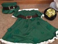 Dream Girl St Patricks Day / Shamrock Fancy Dress Costume