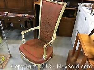 Victorian high back chair