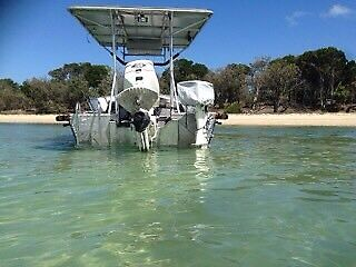 20ft alloy boat very stable family boat