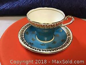 Aynsley UK Tea Cup And Saucer