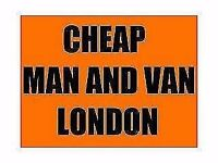 Cheap man and van from £12.50 per hour....selfloading local only