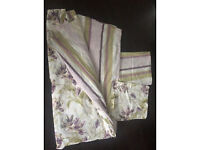 Laura Ashley reversible King bed set, excellent condition.