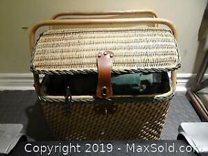 Wicker Picnic Basket and More A