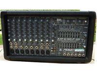 PEAVEY XR696F 12 channel mixer + 600+600w amp + Anti-Feedback Ferret + graphic E