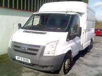 2010 Ford Transit Box Van (Ex BT Fleet) **FOR AUCTION**