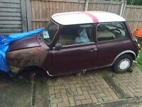 Austin mini Mayfair auto in need of full restoration