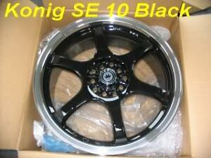 650$ TODAY !!!!!!!! konig wheel 18'' special mags 1100$ AVEC PNEUS