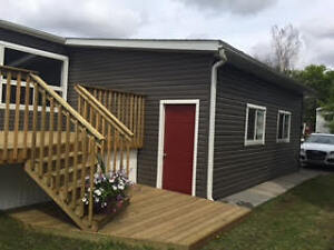 For Sale 3BR 2 Bath Modular home, attached garage