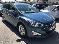 2014 14 HYUNDAI I40 1.7 CRDI STYLE BLUE DRIVE ESTATE 5DR (135) DIESEL