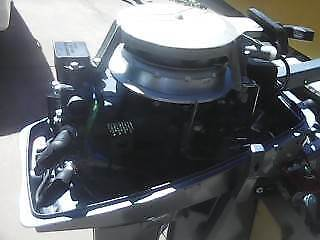 YAMAHA 8 HP OUTBOARD  WTH A CHARGING CIRCUIT