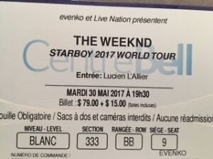 The Weeknd at the Bell Center