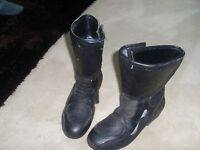 Frank thomas biker boots size 8