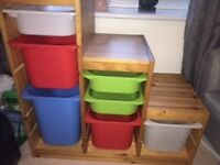 IKEA Trofast Storage Unit SOLD SUBJECT TO COLLECTION