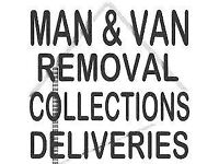 CHEAPEST QUOTES ON GUMTREE ! MAN & VAN REMOVALS OR PICKUPS POLITE,RELIABLE ALL UK