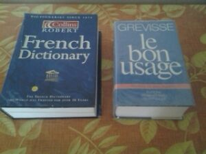 "French Dictionary and the ""bible"" of French Grammar Kitchener / Waterloo Kitchener Area image 2"