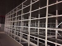 JOB LOT LINK industrial shelving 3m high AS NEW ( storage , pallet racking )