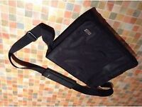 Black Canvas Briefcase (New, never used)