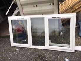 White UPVC window 2000 x 1030