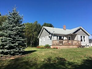 House & 1 Acre Waterview Lot FOR SALE-Minutes from Charlottetown
