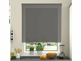 Daylight blinds grey 60cm(W) by 190cm(D)
