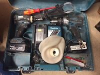 Power tools, measuring tools, and general set of tools all for sale in one big lot