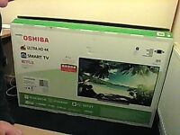 toshiba 55inch 4k tv works perfect